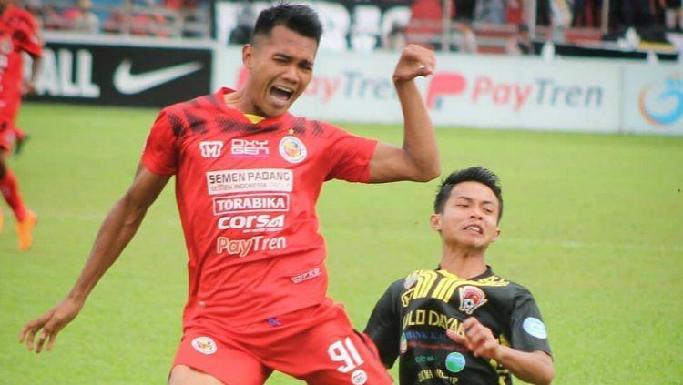 Semen Padang vs Kalteng Putra. Copyright: © Instagram/Liga 2
