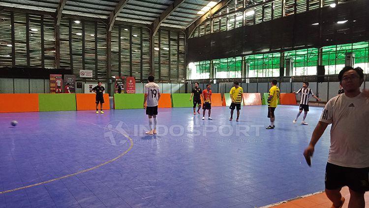 Futsal pria di Cilanda Sport Centre Copyright: © Shintya Anya Maharani/INDOSPORT