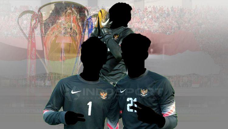 Tiga kiper terbaik Timnas Indonesia sepanjang sejarah Piala AFF Copyright: © INDOSPORT