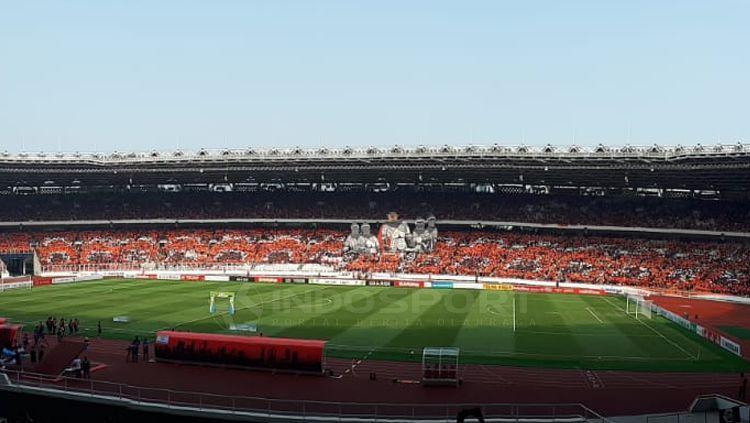 Stadion GBK, salah satu venue yang layak untuk gelar Piala Dunia U-20 tahun 2021 mendatang. Copyright: © Zainal Hasan/INDOSPORT