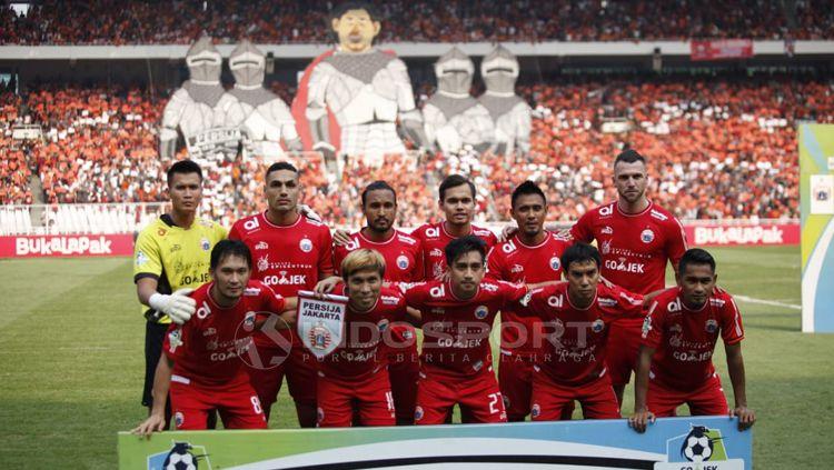 Skuat Persija Jakarta Copyright: © Herry Ibrahim/INDOSPORT