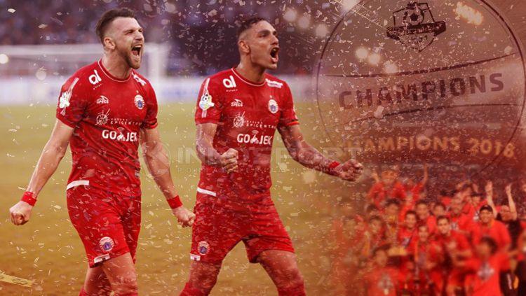 ilustrasi Persija Jakarta juara Liga 1 Copyright: © INDOSPORT