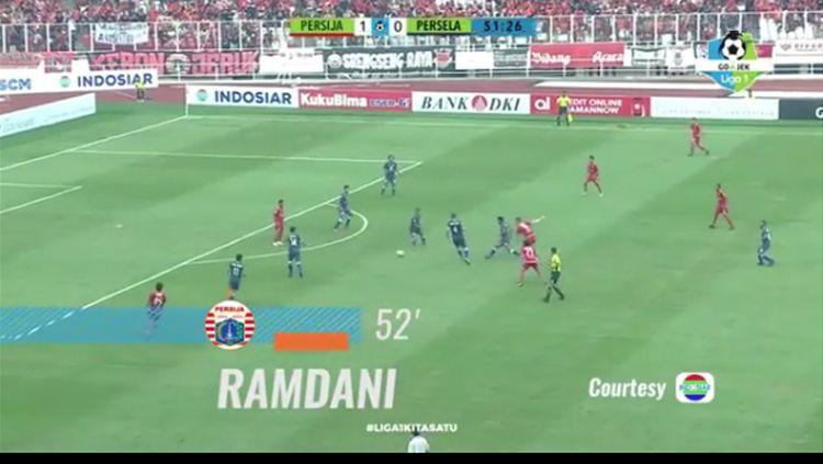 Gol kontroversial Ramdani Lestaluhu Copyright: © Liga1