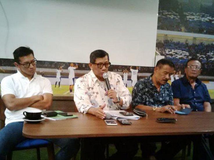 Persib Bandung Bantah 4 Pemainnya Terlibat Kasus Suap
