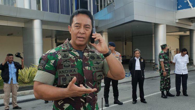 Andika Perkasa, Kepala Staf TNI Angkatan Darat yang baru. Copyright: © Twitter.com/kemkominfo