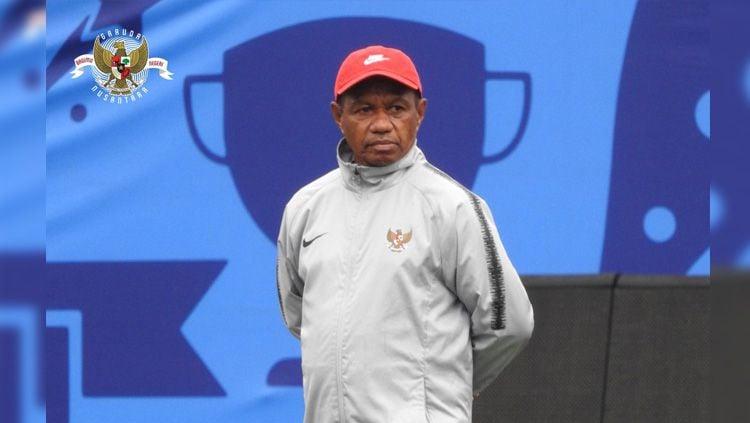 Rully Nere menanggapi peluang anak-anak asuhnya jelang laga lanjutan Grup B SEA Games 2019 antara Timnas Indonesia Putri vs Thailand, Senin (02/12/19) besok. Copyright: © pssi.org