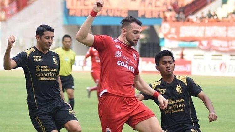 Persija vs Sriwijaya FC. Copyright: © Instagram@Persijajkt