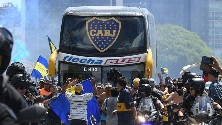 Alasan Boca Juniors Tak Terima Kekalahan di Perempat Final Copa Libertadores. Copyright: © twitter