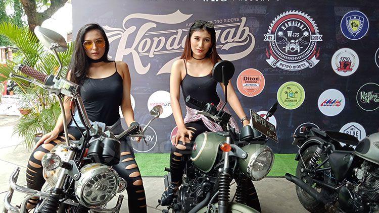 Kawasaki Retro Riders W175, Komunitas Untuk Pencinta Motor Klasik Masa Kini Copyright: © Shintya Anya Maharani/INDOSPORT