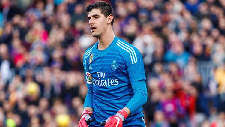 Thibaut Courtois, kiper Real Madrid. Copyright: © INDOSPORT