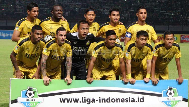 Skuat Bhayangkara FC Copyright: © Fitra Herdian/INDOSPORT