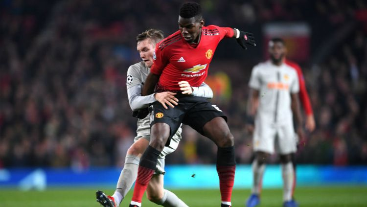 Young Boys saat menghadapi Manchester United di Liga Champions 2018-2019. Copyright: © Getty Images