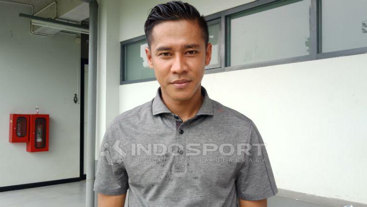Indra Kahfi Ardhiyasa, kapten Bhayangkara FC. Copyright: © Shintya Maharani/INDOSPORT
