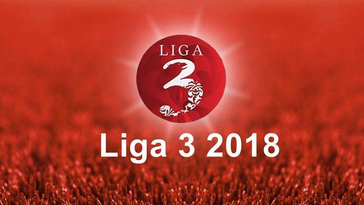 Logo Liga 3 2018. Copyright: © deltamania-cyber.com