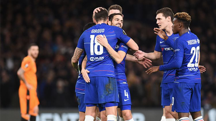 Olivier Giroud mengirim ultimatum ke Frank Lampard atas keputusannya mencadangkan dan jarang memberi menit bermain kepada dirinya Copyright: © Getty Images