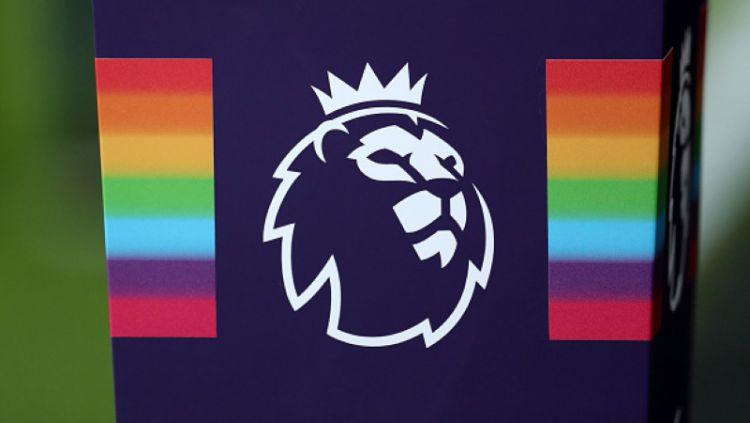 Logo Liga Primer Inggris dengan LGBT Copyright: © INDOSPORT
