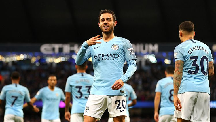 Selebrasi gol Bernardo Silva Copyright: © Getty Images