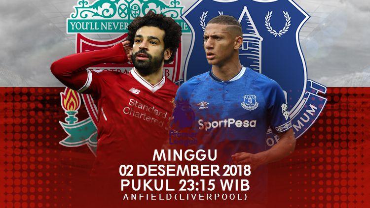 Prediksi Liverpool Vs Everton Copyright Indosport