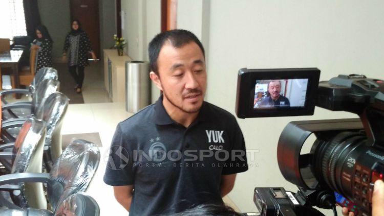 Yoo Hyun-koo, eks kapten Sriwijaya FC. Copyright: © Muhammad Effendi/INDOSPORT