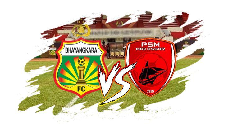 Bhayangkara FC vs PSM Makassar Copyright: © INDOSPORT