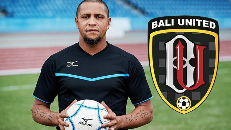 Roberto Carlos, legenda sepak bola Brasil yang dikabarkan ingin menjadi pelatih di Bali United. Copyright: © Indosport/AgilMubarok
