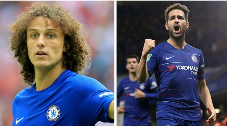 Maurizio Sarri ingin pertahankan David Luiz dan Cesc Fabregas Copyright: © West London Sport