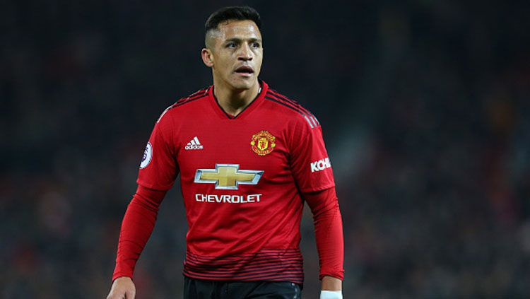 Alexis Sanchez, gelandang serang Manchester United. Copyright: © Getty Images