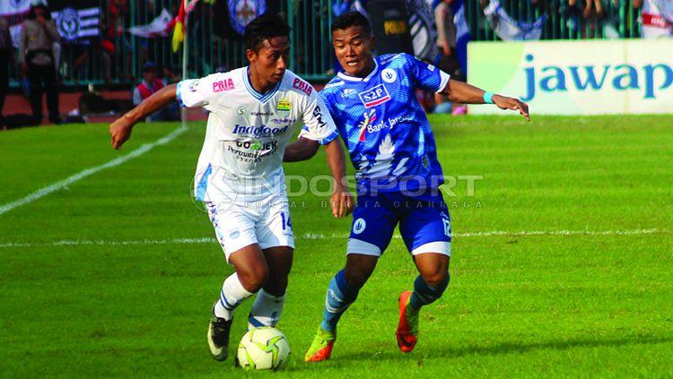 Pertandingan Piala Indonesia, PSCS Cilacap vs Persib Bandung, Selasa (05/12/18). Copyright: © Ronald Seger/Indosport
