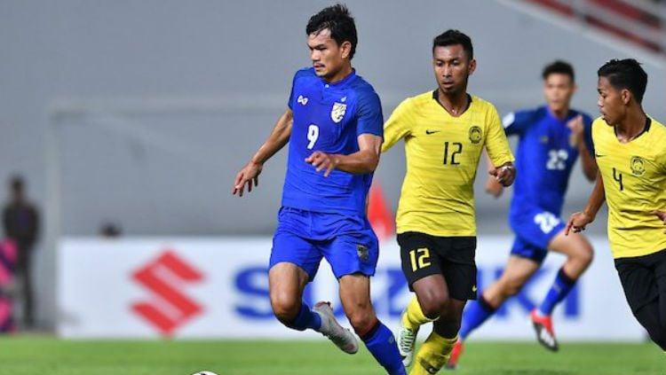 Thailand vs Malaysia. Copyright: © AFF