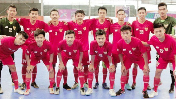 Skuat Timnas Futsal Indonesia Copyright: © Timnas Futsal Indonesia