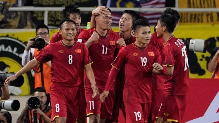 Vietnam mampu mengalahkan Filipina di semifinal leg kedua Piala AFF 2018. Copyright: © Stadium Astro