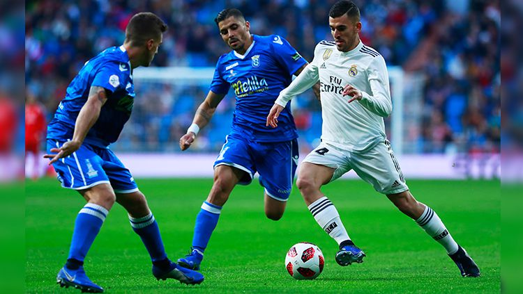 Real Madrid vs Melilla. Copyright: © Getty Images