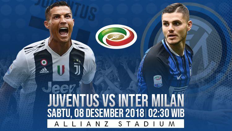 Prediksi pertandingan Juventus vs Inter Milan Copyright: © INDOSPORT