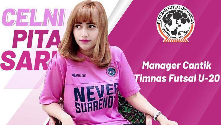 Celni Pita Sari manager Timnas Futsal Indonesia Copyright: © Federasi Futsal ID