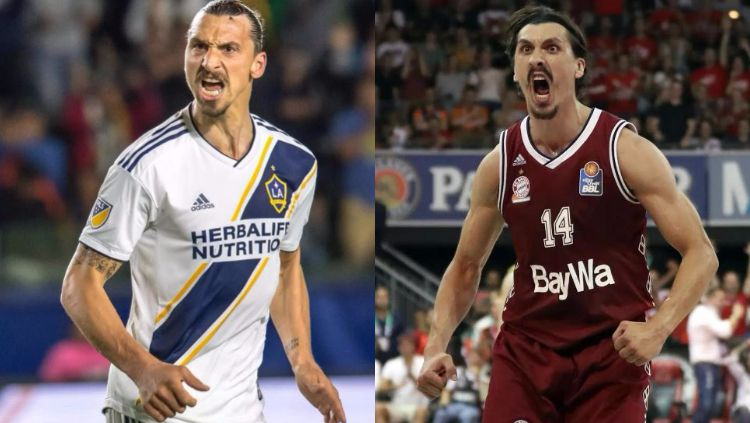 Zlatan Ibrahimovic punya kembaran Copyright: © kolase Getty Images