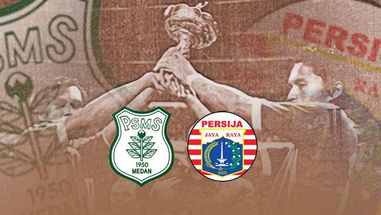 Laga Persija Jakarta vs PSMS juara bersama Perserikatan 1975 Copyright: © INDOSPORT