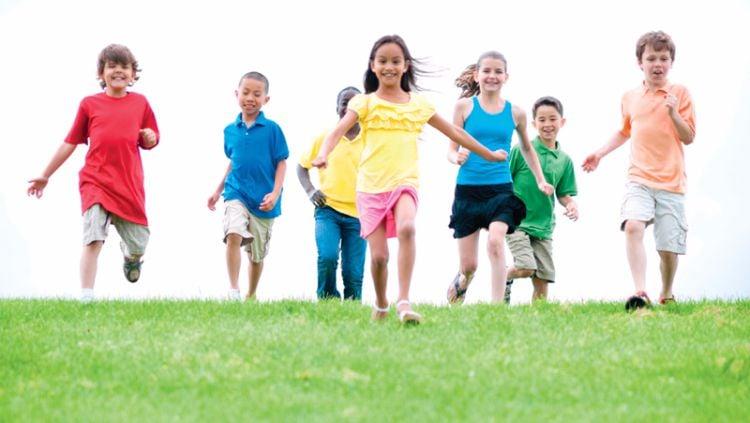 ilustrasi hidup sehat bagi anak-anak Copyright: © hourdetroit.com