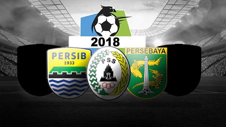 Lima klub Liga 1 yang dapat mengembangkan industri Sepak Bola Indonesia. Copyright: © INDOSPORT