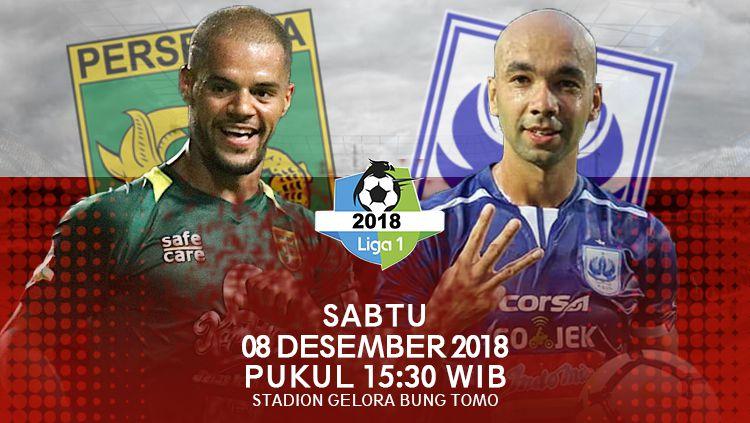 Prediksi Pertandingan Liga 1 2018 Persebaya Surabaya vs PSIS Semarang Copyright: © INDOSPORT