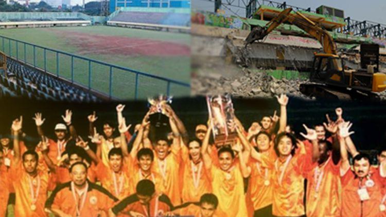 Stadion Lebak Bulus, Temani Proses Kejayaan Persija Hingga Akhirnya Diruntuhkan Copyright: © indosport
