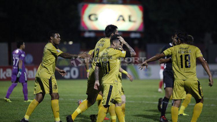 Bhayangkara FC akan menjamu tim Liga 3, dalam lanjutan babak 64 besar Piala Indonesia 2018. Copyright: © Herry Ibrahim/Indosport.com