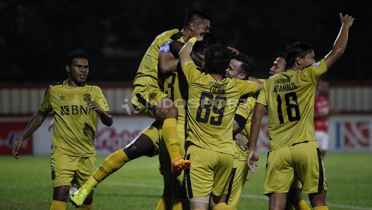 Bhayangkara FC vs Bali United Copyright: © Herry Ibrahim/Indosport.com