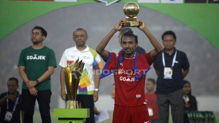 Rohit Chand pemain terbaik Liga 1 Indonesia. Copyright: © Herry Ibrahim/Indosport.com