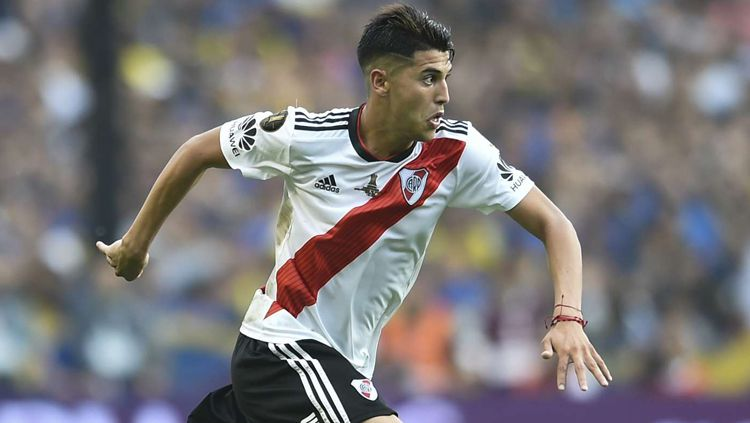Gelandang River Plate, Exequil Palacios Copyright: © Getty Images