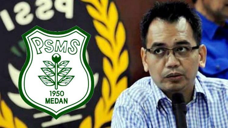Sihar Sitorus dan PSMS Medan Copyright: © Internet