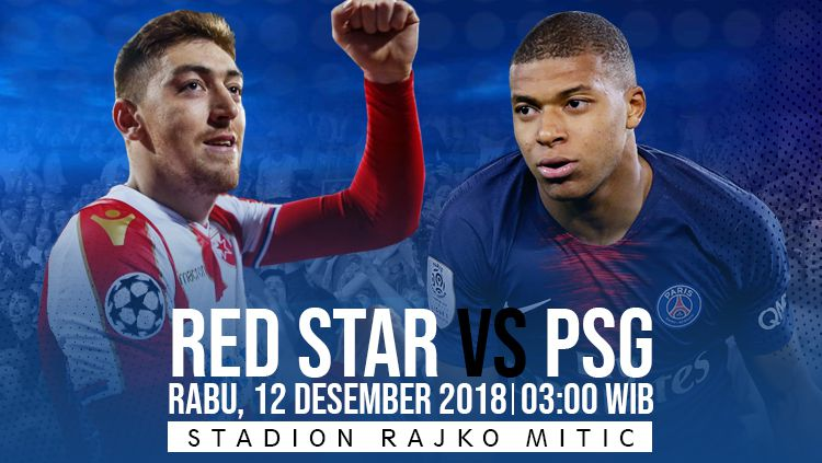 Prediksi pertandingan Red Star vs PSG Copyright: © INDOSPORT