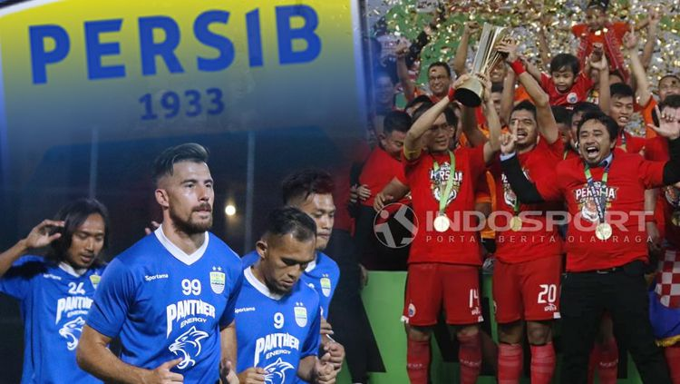 Tiga hal yang bisa dipelajari Persib dari Persija untuk juara Liga 1 Copyright: © INDOSPORT
