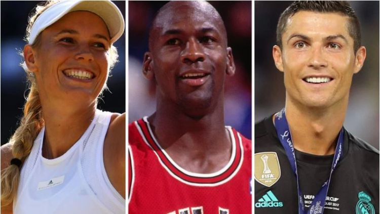 Atlet terkenal dunia yang gemar melakukan belanja Copyright: © TIME