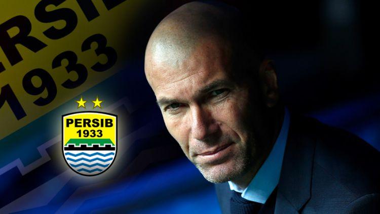 Zinedine Zidane Copyright: © Indosport.com