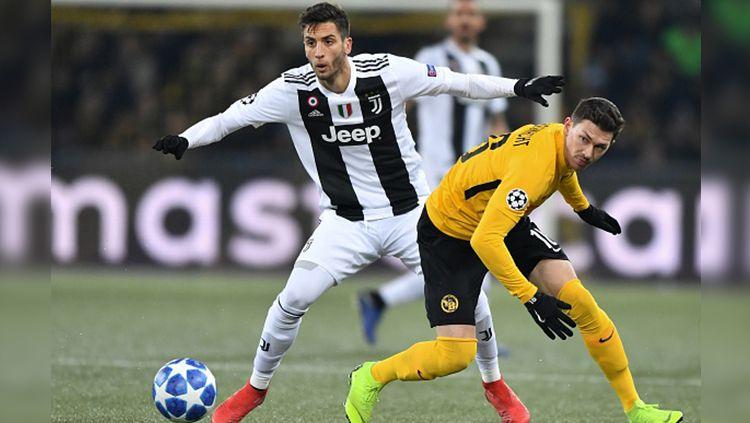 Klub sepak bola Serie A Italia, Juventus dikabarkan tak rela melepas bintangnya, Rodrigo Bentancur yang diminati Manchester City. Copyright: © Getty Images